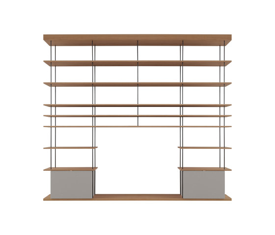 F1 Bookcases | Web Line 17 de Forme's Collection | Estantería
