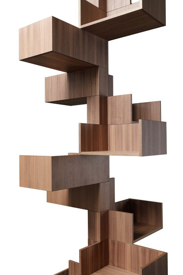 F4 Bookcases | Tree Form 75 de Forme's Collection | Estantería