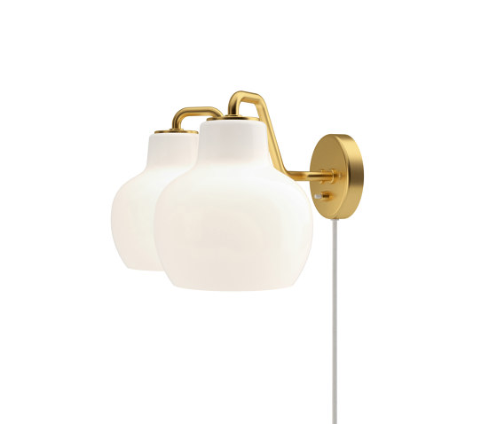 VL Ring Crown Wall 2 by Louis Poulsen | Wall lights