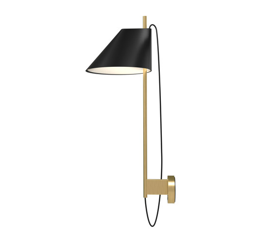 Yuh Brass Wall by Louis Poulsen | Wall lights