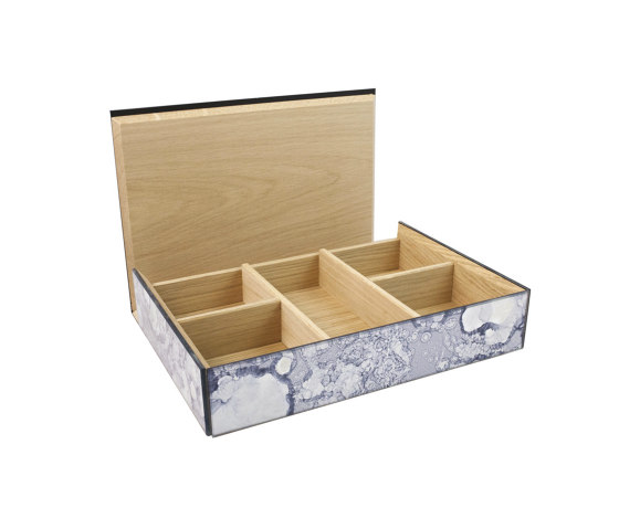 Container | Tea Bag box by Antique Mirror | Storage boxes