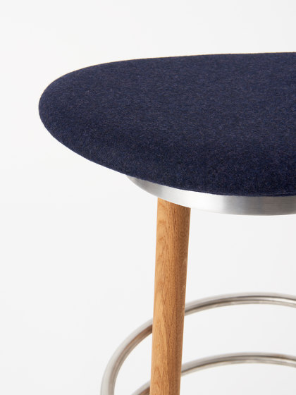 Sturdy Stool Bar Stool by Made By Hand   Bar stools