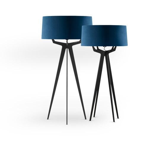 No. 35 Floor Lamp Velvet Collection - Indigo - Fenix NTM® by BALADA & CO.   Free-standing lights