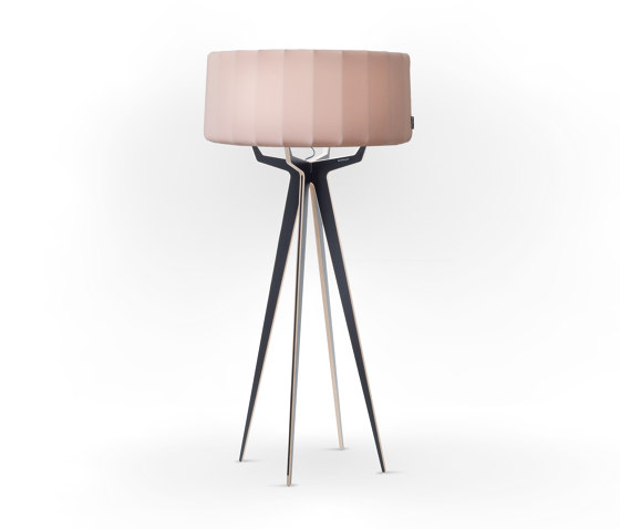 No. 35 Floor Lamp Vintage Collection - Rose PowderII - Multiplex by BALADA & CO. | Free-standing lights