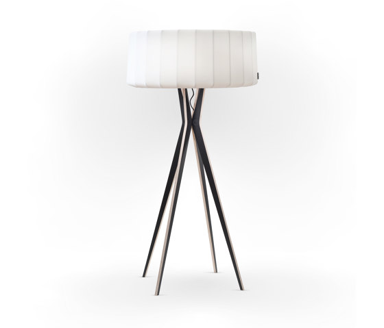 No. 43 Floor Lamp Vintage Collection - Satin White - Multiplex by BALADA & CO. | Free-standing lights