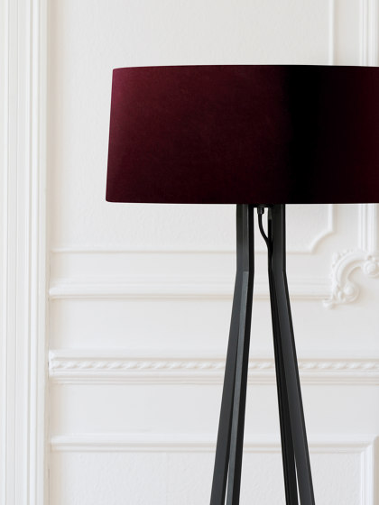 No. 47 Floor Lamp Velvet Collection - Prugna - Fenix NTM® by BALADA & CO. | Free-standing lights