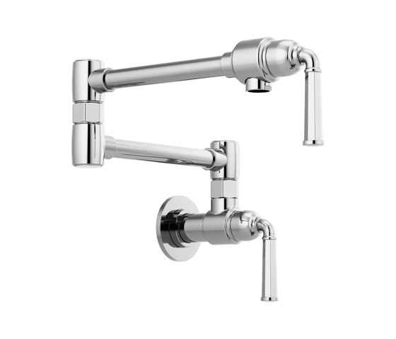 Wall Mount Pot Filler Faucet by Brizo | Kitchen taps