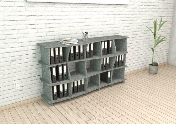 acoustic shelf | Sea AC de form.bar | Estantería