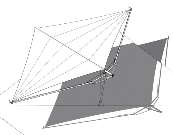 Fold&Roll by SunSquare | Shade sails