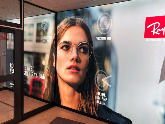 LightWall by Dresswall   Advertising displays