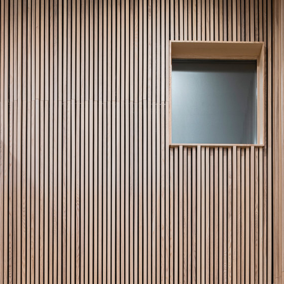 Linear Module by Gustafs | Wood panels