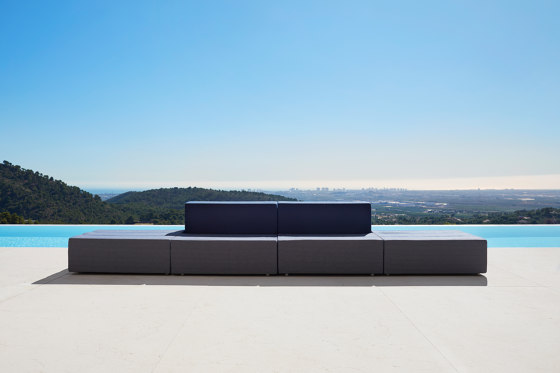 Tablet sofa by Vondom | Sofas