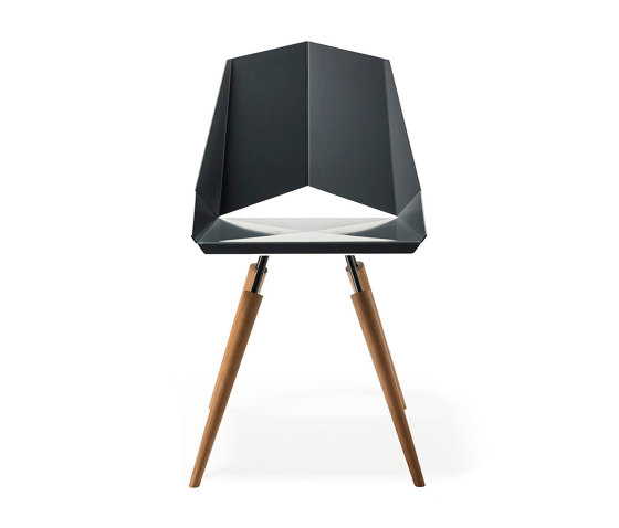 Kite Chair 4-Leg Woodbase by OXIT design | Chairs
