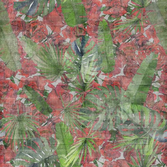 Back Home Amazzonia Green de TECNOGRAFICA | Peintures murales / art