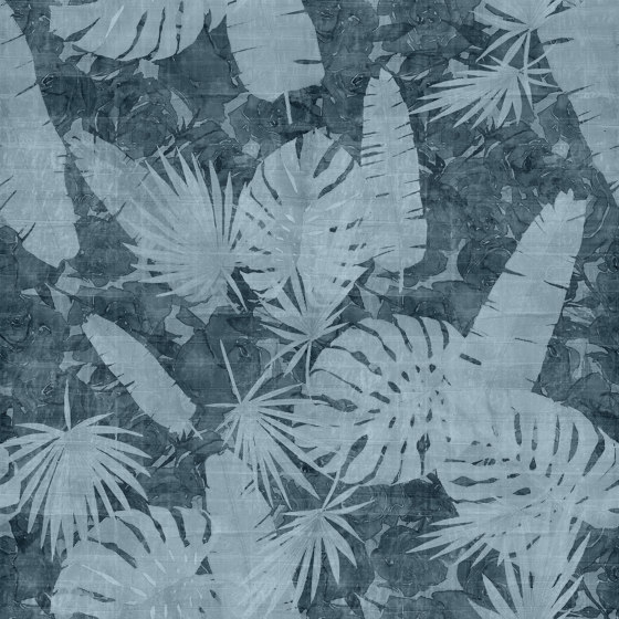Back Home Westfalia Blue de TECNOGRAFICA | Peintures murales / art