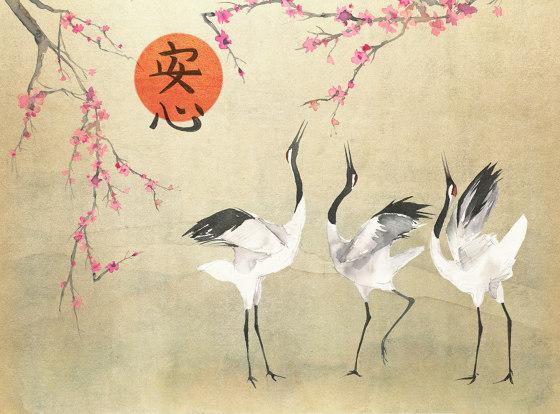 Mon Cherry Blossom Platinum by TECNOGRAFICA   Wall art / Murals