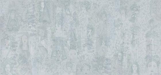 Women Blue by TECNOGRAFICA | Wall art / Murals