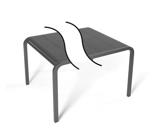 Tandem | Custom-made table width 90 di EGO Paris | Tavoli pranzo