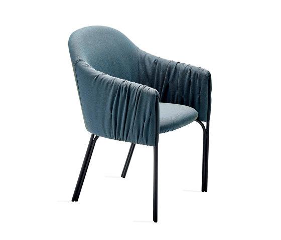 Celine | Armchair High von FREIFRAU MANUFAKTUR | Stühle
