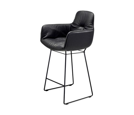 Leya | Kitchen Armchair High by FREIFRAU MANUFAKTUR | Counter stools