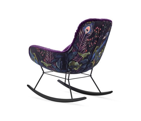 Leya | Rocking Lounge Chair by FREIFRAU MANUFAKTUR | Armchairs
