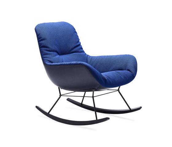 Leya   Rocking Lounge Chair von FREIFRAU MANUFAKTUR   Sessel