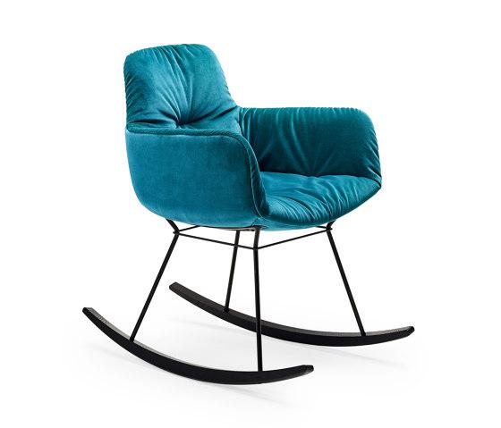 Leya   Rocking Chair Small by FREIFRAU MANUFAKTUR   Chairs