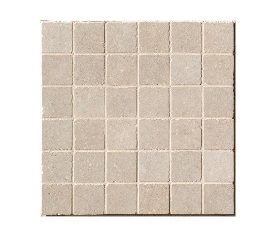 Nux Beige Gres Macromosaico Anticato by Fap Ceramiche   Ceramic mosaics