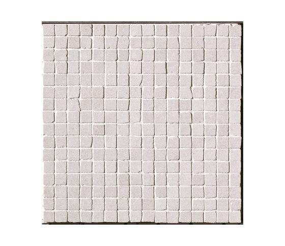 Nux White Gres Mosaico Anticato by Fap Ceramiche | Ceramic mosaics