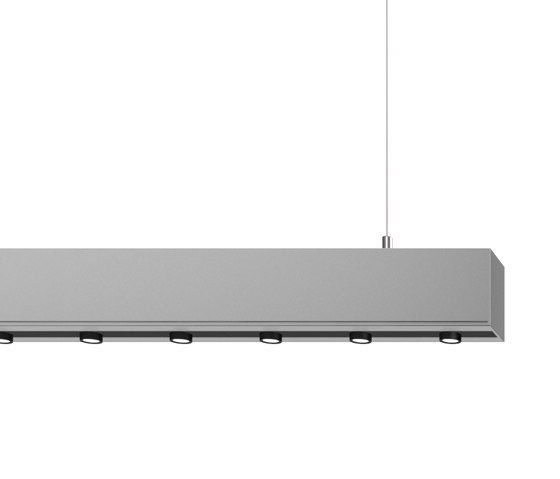 METRON Pendant lamps downlight with lens optics by RIBAG | Suspended lights