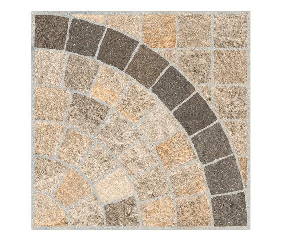 Valeria Beige Arco Bruno by Rondine | Ceramic tiles