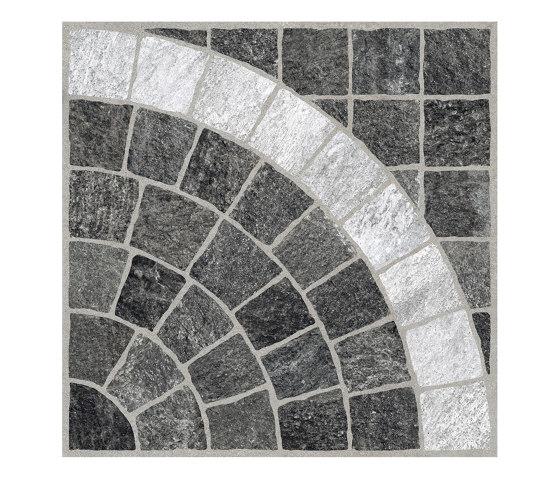 Valeria Grafite Arco Bianco by Rondine | Ceramic tiles