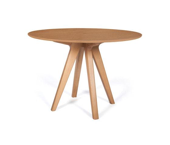 Arthur's round dining table | # 30 EM by Hans Hansen & The Hansen Family | Dining tables