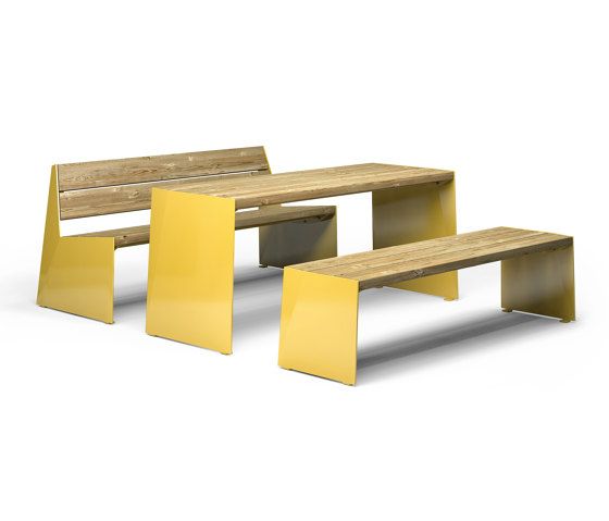 Bloc by Vestre | Tables and benches