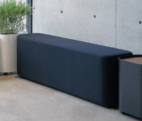 LOAF I 3P bench by By interiors inc. | Benches