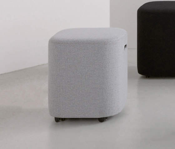 LOAF I pouf by By interiors inc. | Poufs