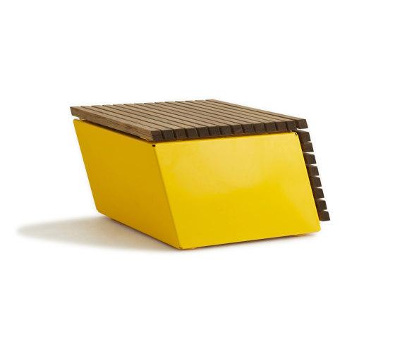 Code Tilt by Vestre | Benches