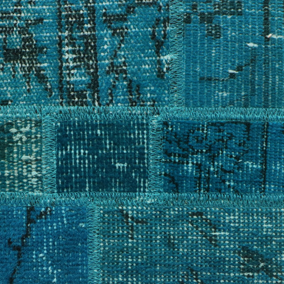 MeatPacking Patchwork Turchese by G.T.Design | Rugs