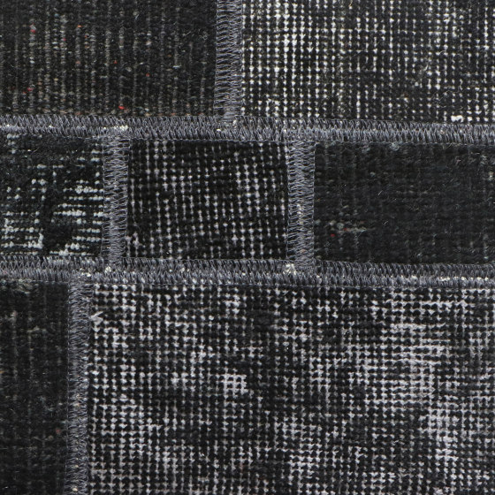 MeatPacking Patchwork Grigio Scuro by G.T.DESIGN | Rugs