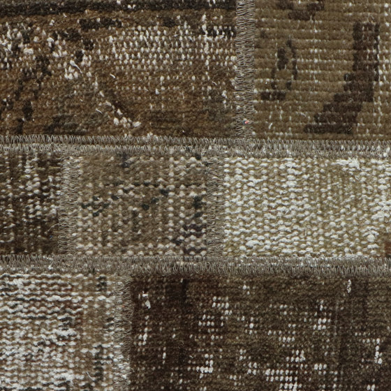 MeatPacking Patchwork Bronzo by G.T.Design | Rugs