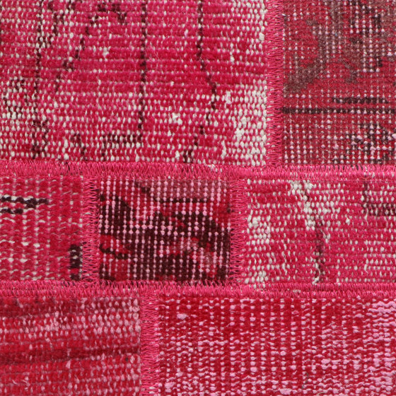 MeatPacking Patchwork Fucsia by G.T.Design | Rugs