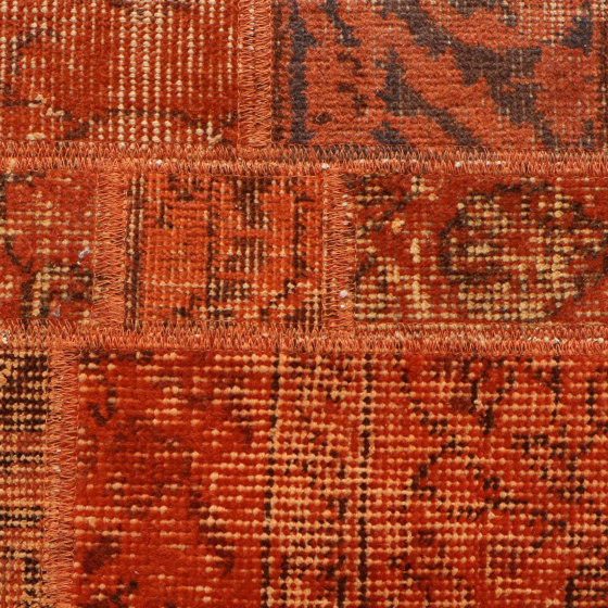 MeatPacking Patchwork Arancio by G.T.Design | Rugs