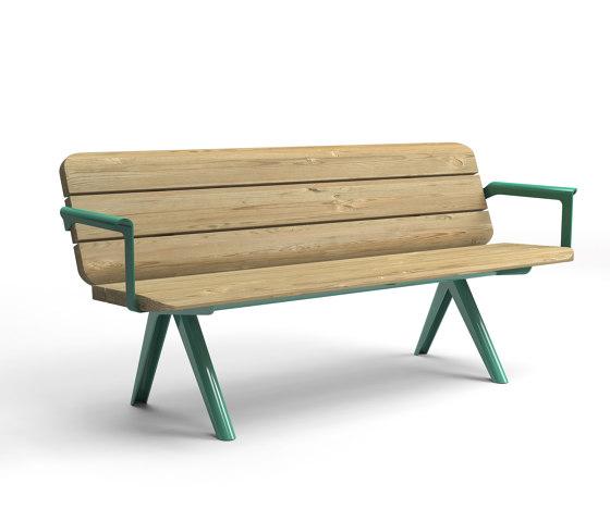 Nunu bench by Vestre   Benches