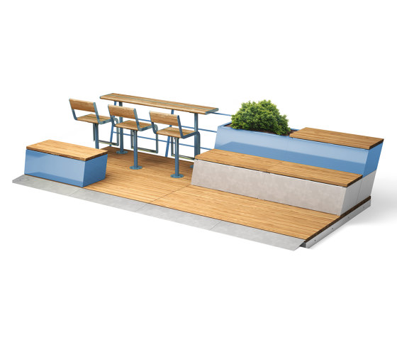 Parklet 2.0 by Vestre | Tables and benches