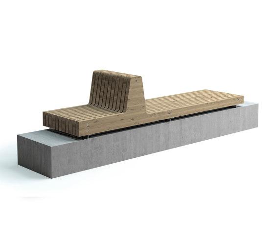 Porto bench by Vestre   Benches