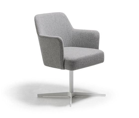 Velour easy Sessel von La Cividina | Stühle