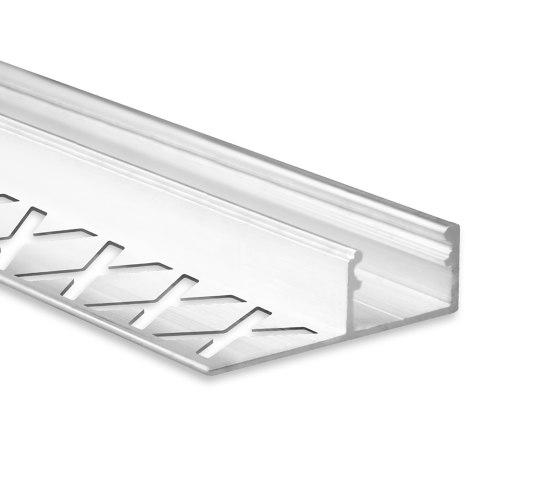 FP2 Serie | FP1 LED Fliesenprofil Mitte 250cm von Galaxy Profiles | Profile