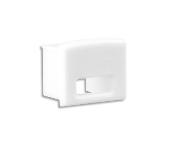 PL5 series | End cap E11W white by Galaxy Profiles