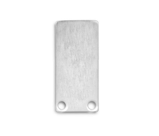 PL6 Serie | Endkappe E18 Aluminium von Galaxy Profiles
