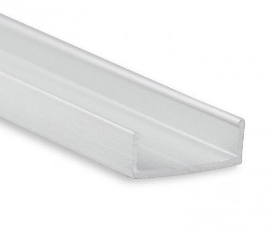 PL6 Serie | PL10.1 LED AUFBAU/MONTAGE-Profil 200 cm, flach von Galaxy Profiles | Profile
